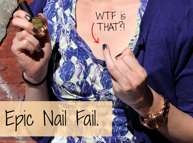 Do it yourself nail art nail fail solutioingenieria Images