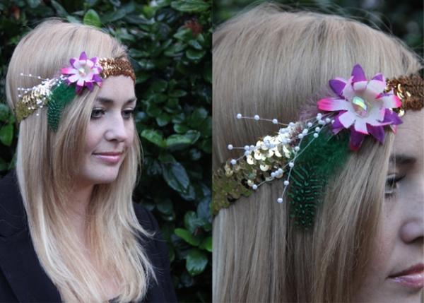 Britt 20s headband