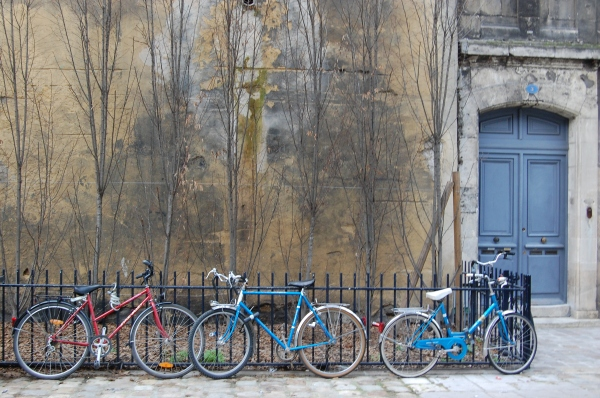 bikes in Bordeaux