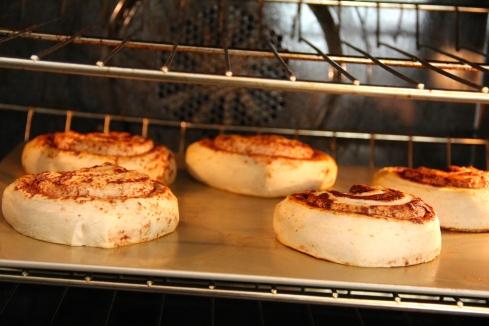 cooking cinnamon buns