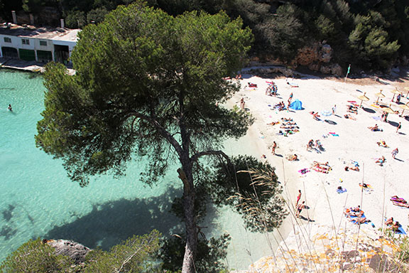 Cala Pi from above