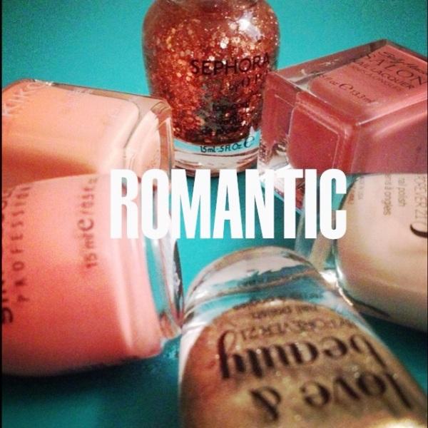 romantic nail colors