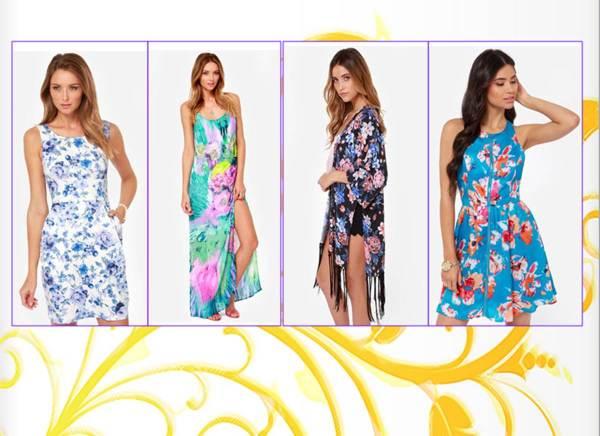 Floral Dresses 1