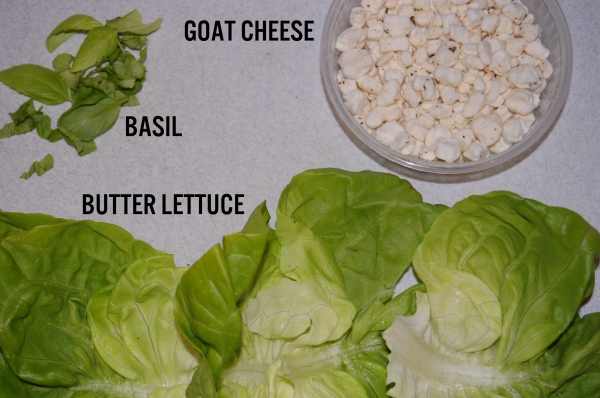Summer Salad Lettuce Wraps