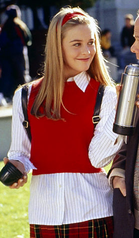 CLUELESS, Alicia Silverstone, Wallace Shawn, Stacey Dash, 1995, (c) Paramount/courtesy Everett Collection   Original Filename: Alicia-Silverstone_Clueless_MCDCLUE_EC033_H.JPG